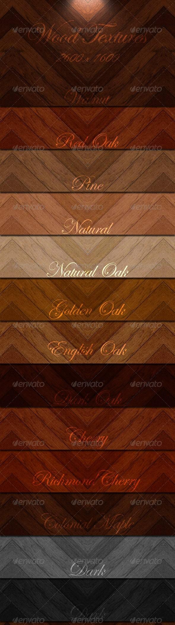 Wood Textures Set-2