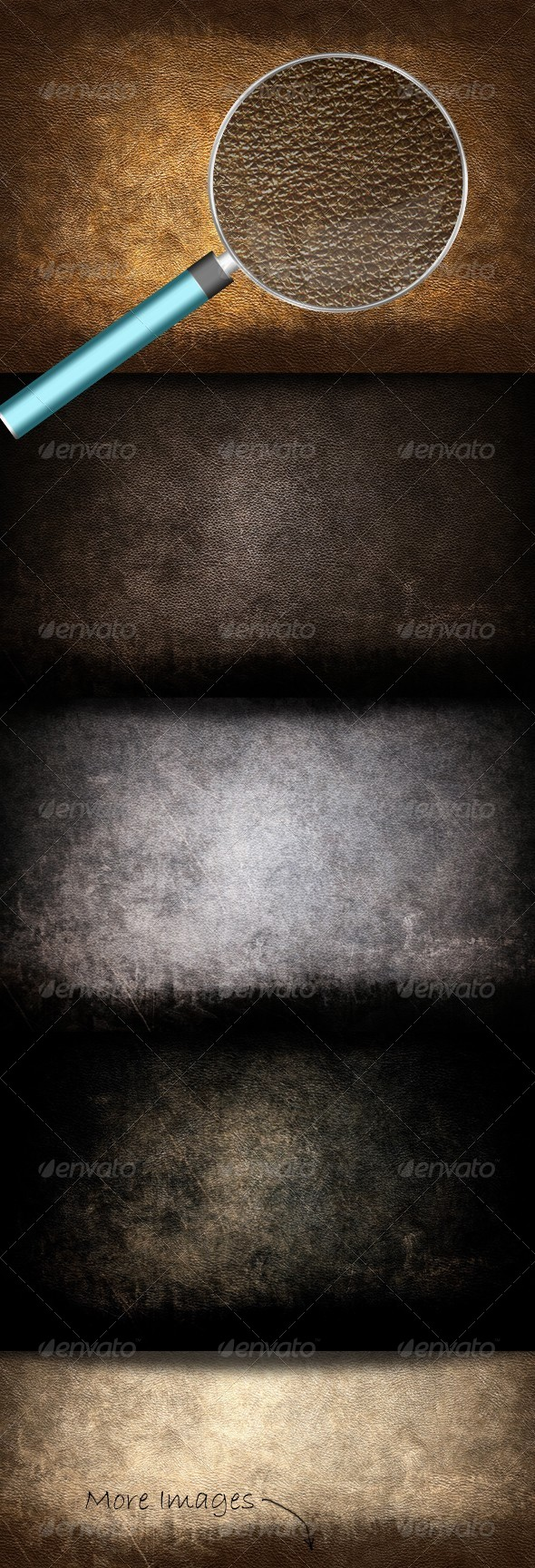 Grunge Leather Textures by GrDezign