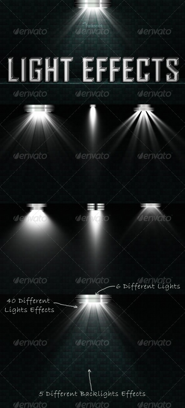 Light Effects Set 2 by GrDezign