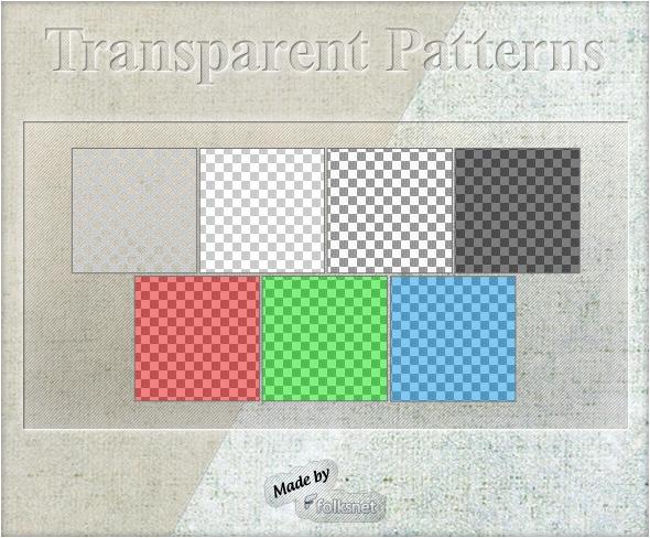 Transparent Patterns by GrDezign
