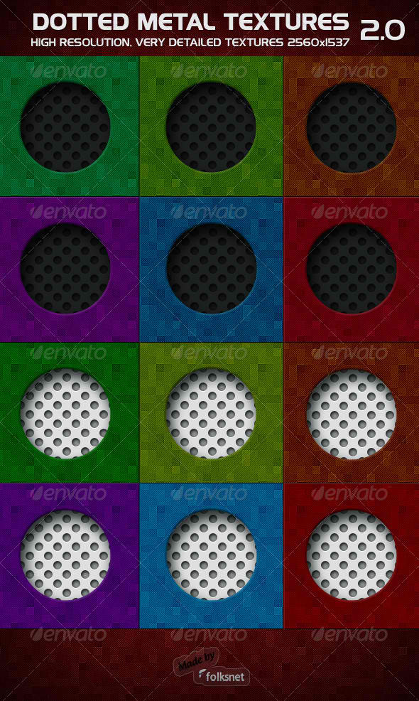 Dotted Metal 2.0 by GrDezign