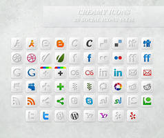 Creamy Icons by GrDezign