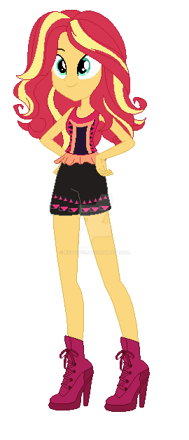 Sunset shimmer legends of everfree by ketrin29 on deviantart for My little pony legend of everfree coloring pages
