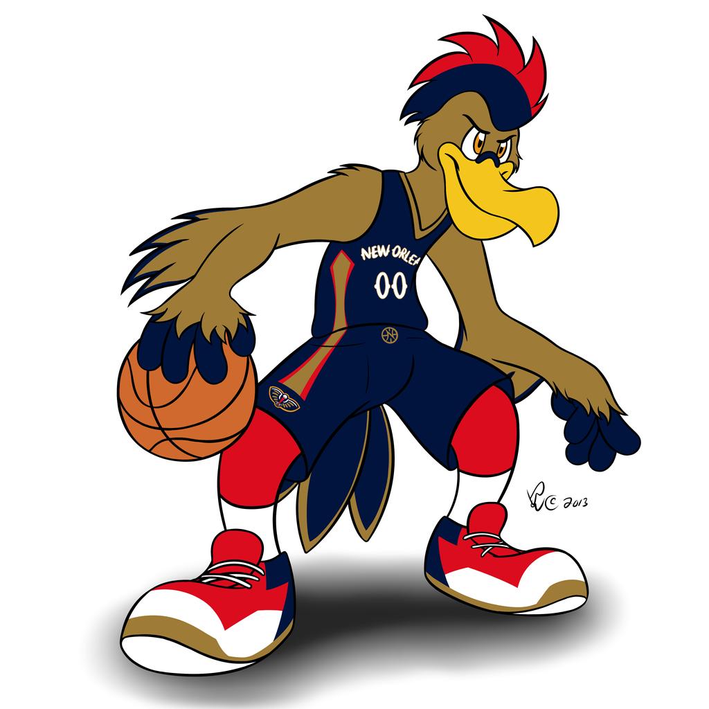 Blazers Mascot: Pierre The Pelican By Bleuxwolf On DeviantArt