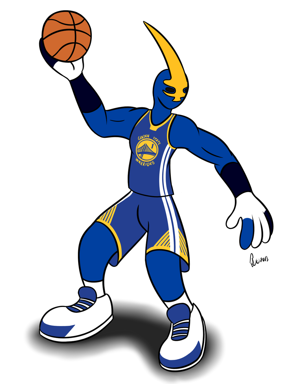 NBA Mascots - Thunder by Bleuxwolf on DeviantArt