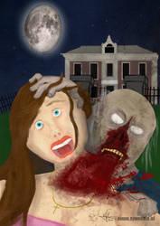 Zombie Neckbite