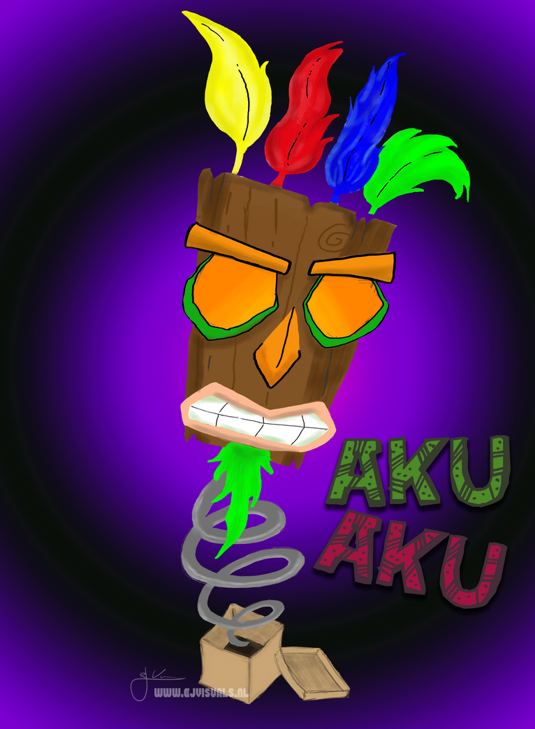 Aku Aku - Jack in the box by Pestiis