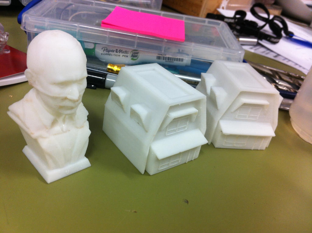 Stackable Houses 3d print by keep-it