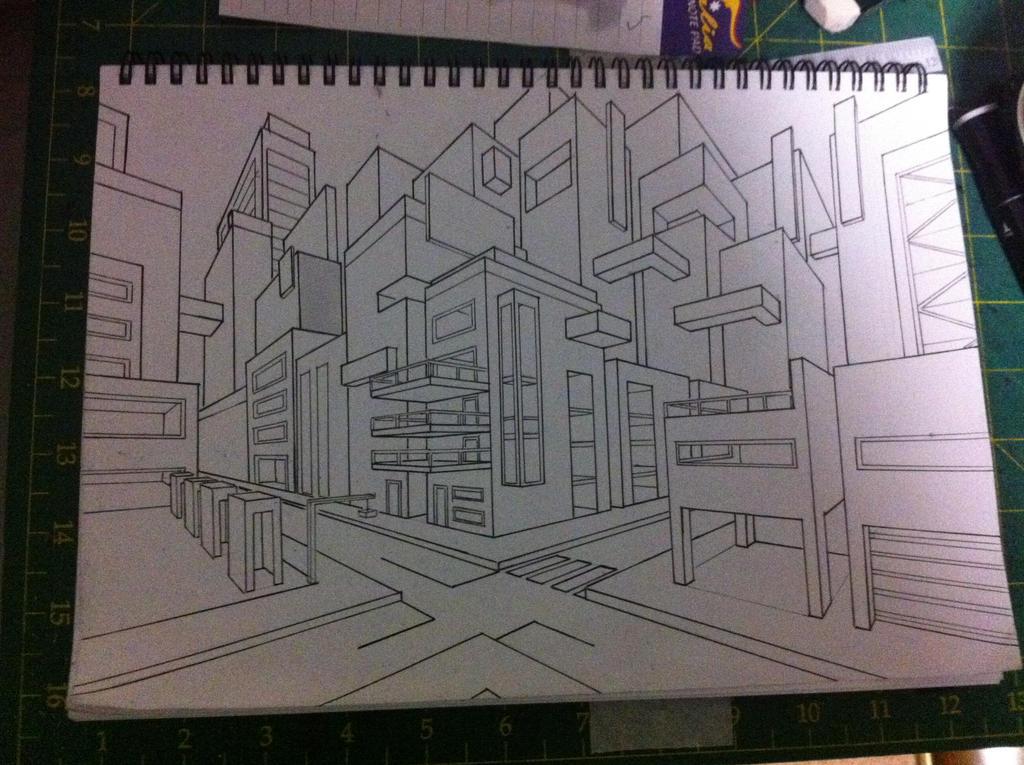 Futuristic City by keep-it
