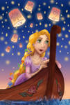 Rapunzel with Lights
