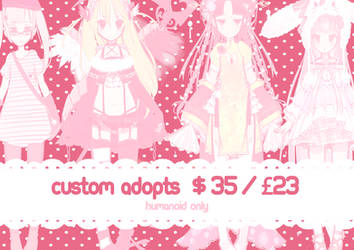 [OPEN] Custom Adopts ! by mintycatart