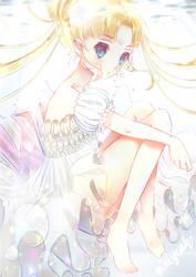 Princess Serenity ~ 100th deviation !! by mintycatart
