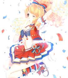 LoveNikki ~ Apple Sugar Cheerleader by mintycatart