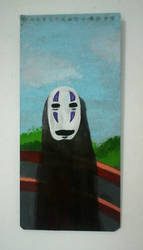 No Face (Spirited Away) by Rompercors