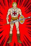He-Man via Hero Machine