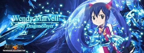 Fairy Tail Cover (For Facebook) : Wendy Marvell by ...  Fairy Tail Cove...