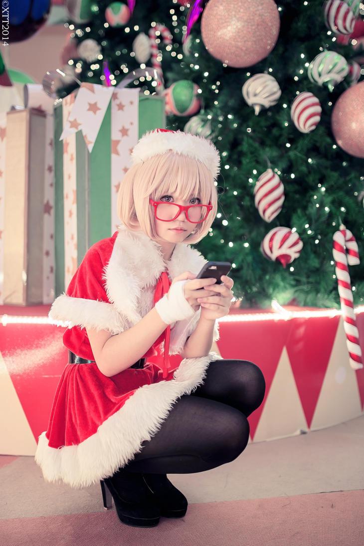 Kuriyama Mirai - Christmas Version by wisely84