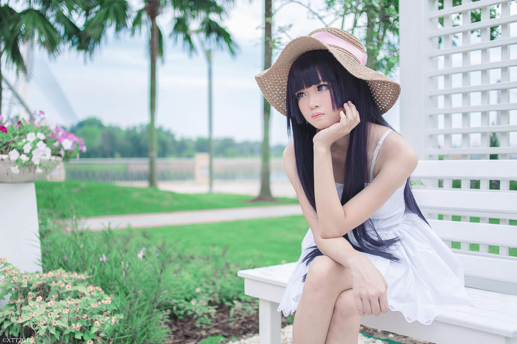 Kuroneko - White Dress Version by wisely84