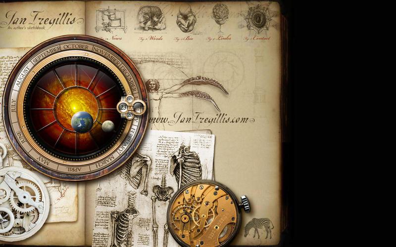 Ian Tregillis Wallpaper by 3232design