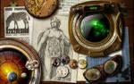 3232design steampunk wallpaper