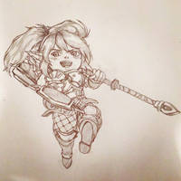 Poppy, Keeper of the Hammer by p-es