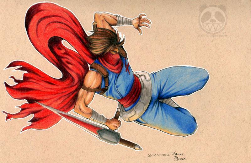 Strider Attack by Marurun