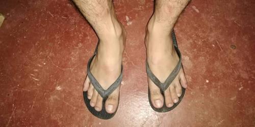 Another Filipino guys flip flops