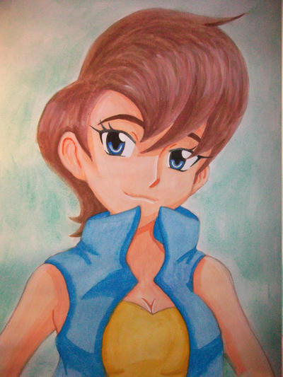 Human Sally by AzumiAngel
