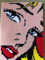Lichtenstein perler by 8bitEsh