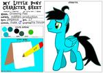 Drawing Pad ref sheet by MillArts-Artworks