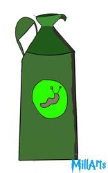 Flesh eating slug repellent by MillArts-Artworks