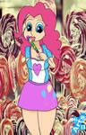 Pinkie with lollipop
