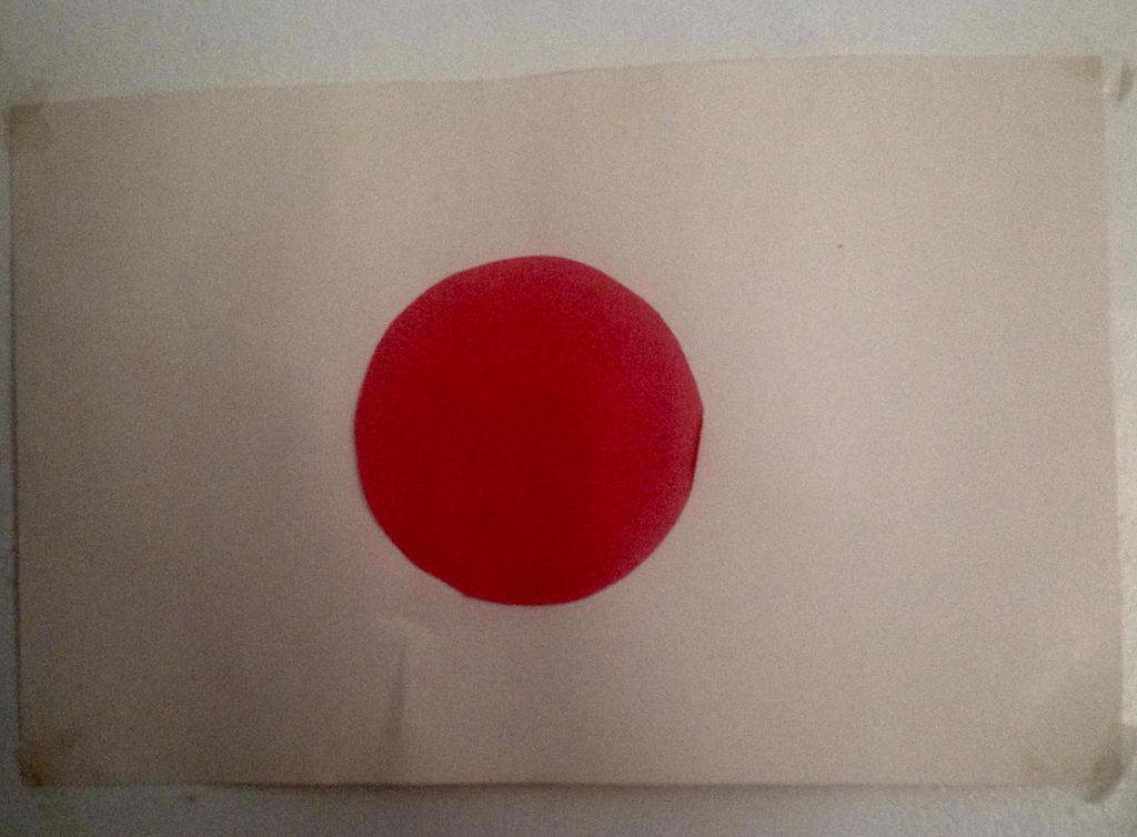 Japanese flag by MillArts-Artworks