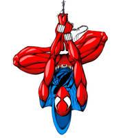 Scarlet Spider-man by Islero771