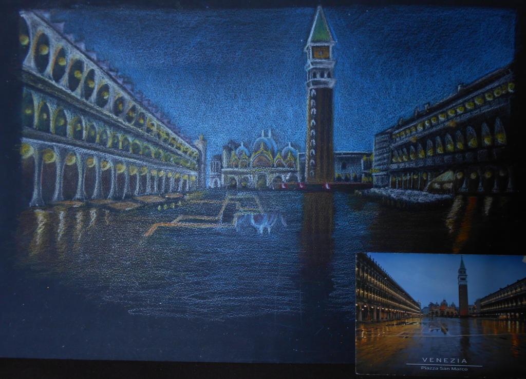 Venezia postcard by WilliamDreyfus