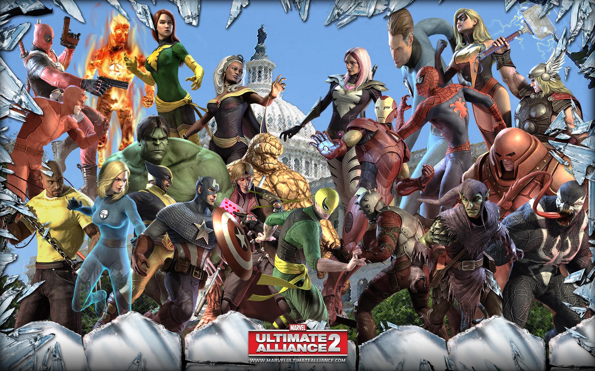 Marvel ultimate alliance 2 wallpaper
