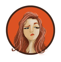 Reddish Girl by zatende