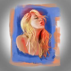 Vivid Portrait by zatende