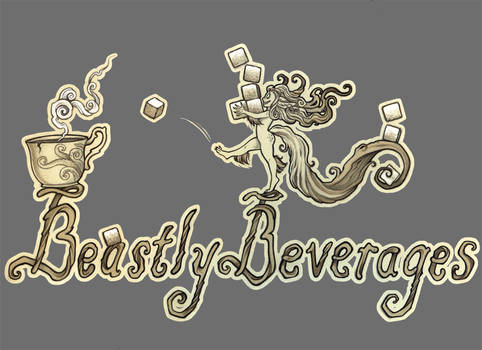 Beastly Beverages T-Shirt Deisgn