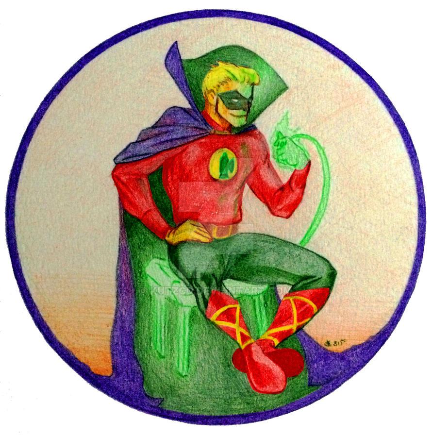 GA Green Lantern by kutzcd