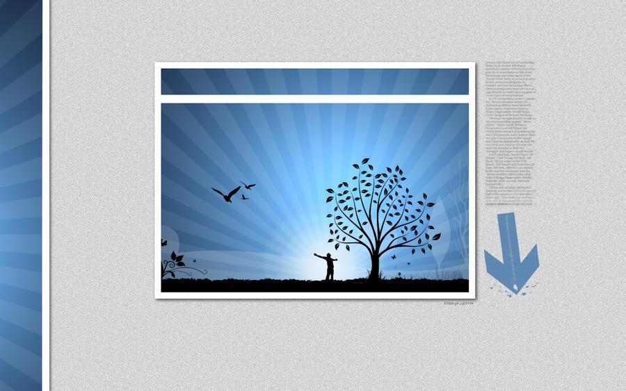 wallpaper Vector Nature by d3bbyeglitter