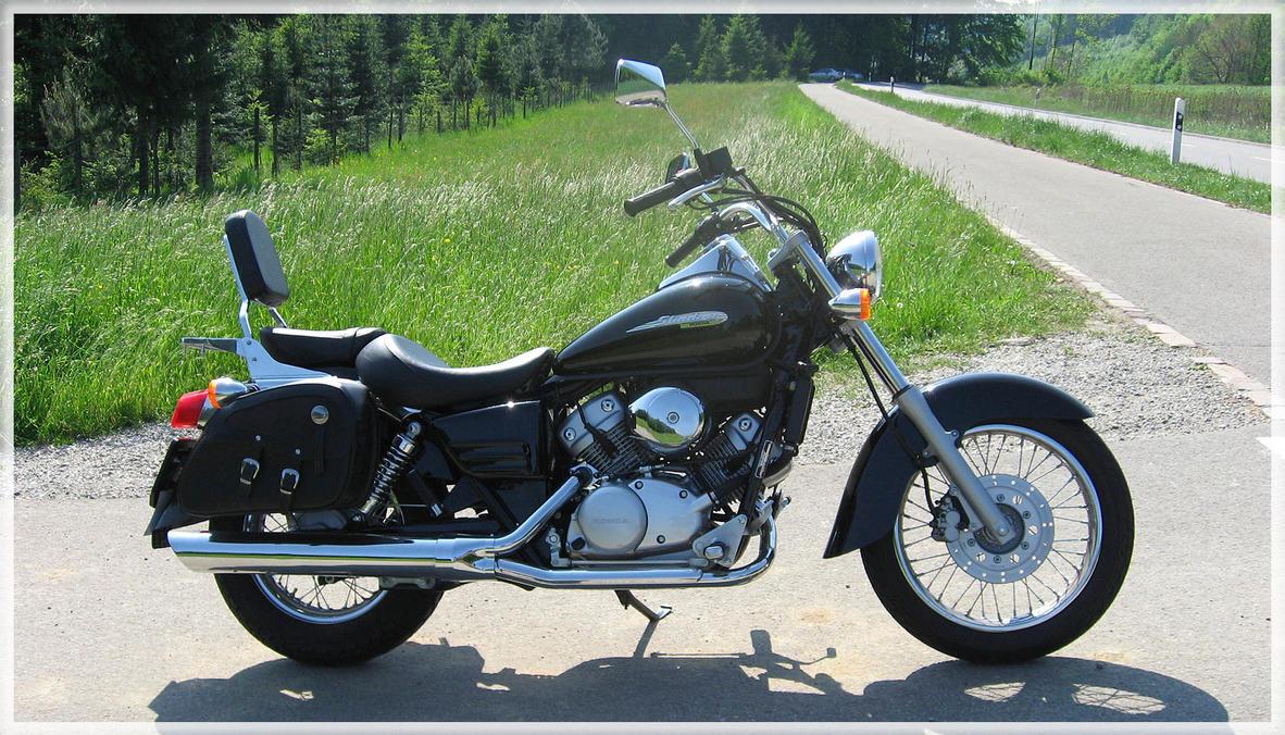 Honda Shadow 125 By Oceanbased