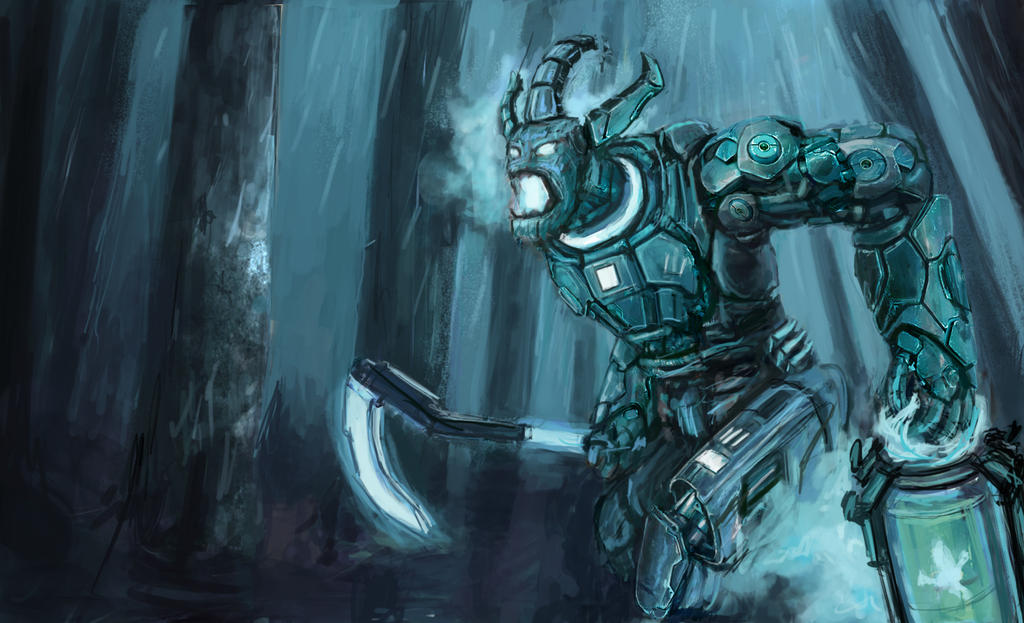 League of legends Pulsefire Thresh Skin by SimonHK