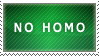 no homo stamp 2 by NyraXerz