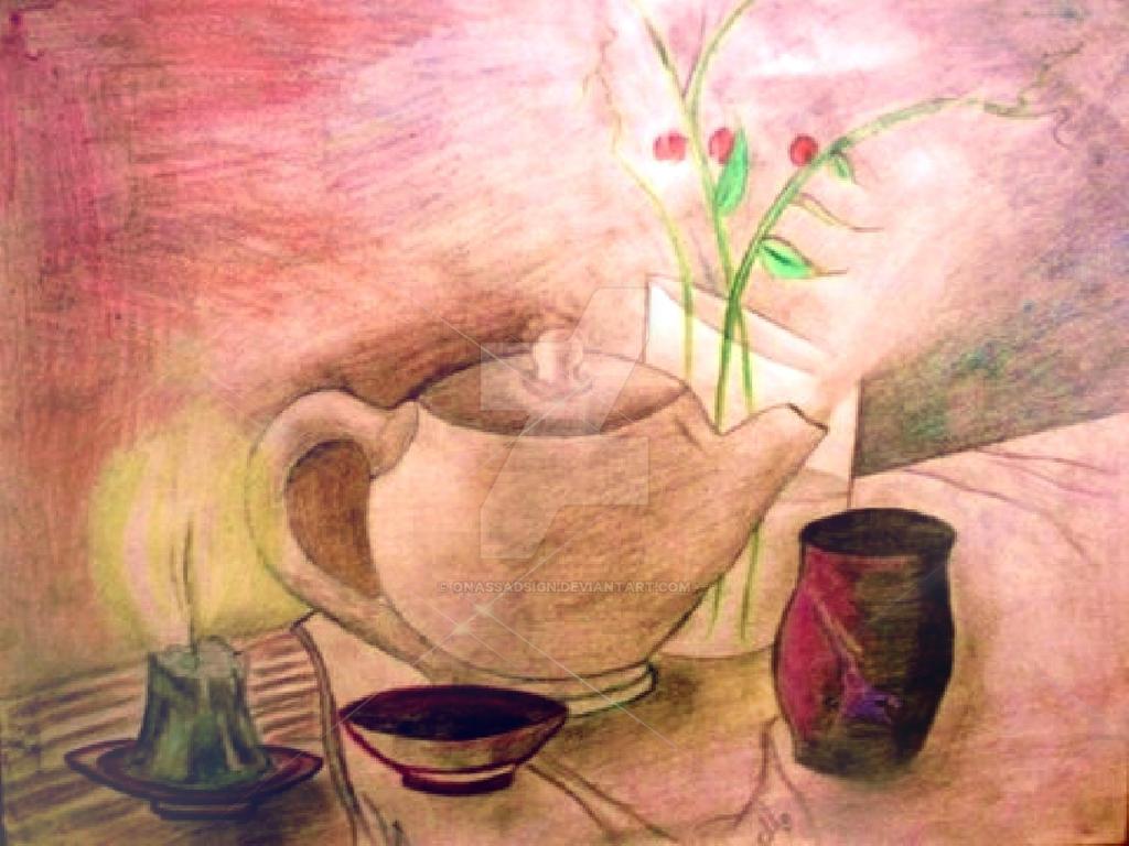 Tea Time by OnassaDSign