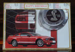 Bens Ford Mustang Card