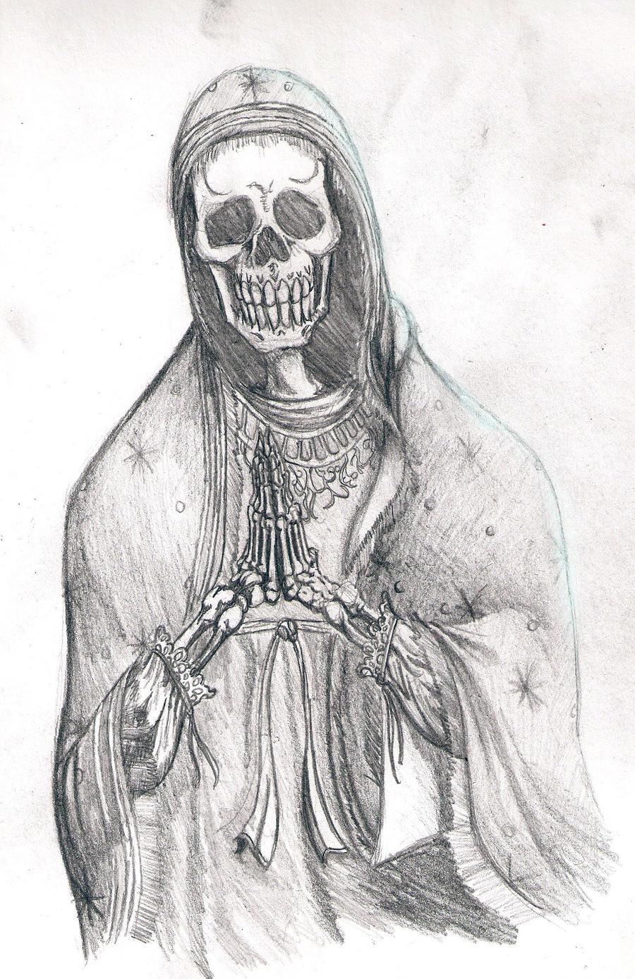 la santa muerte coloring pages - photo #45