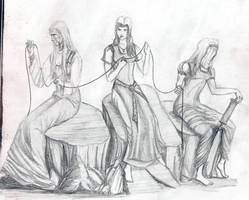The Norns by Satanoy