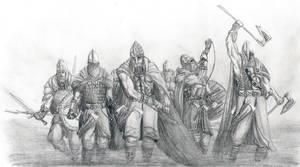 Einherjer, Warriors O Odinn