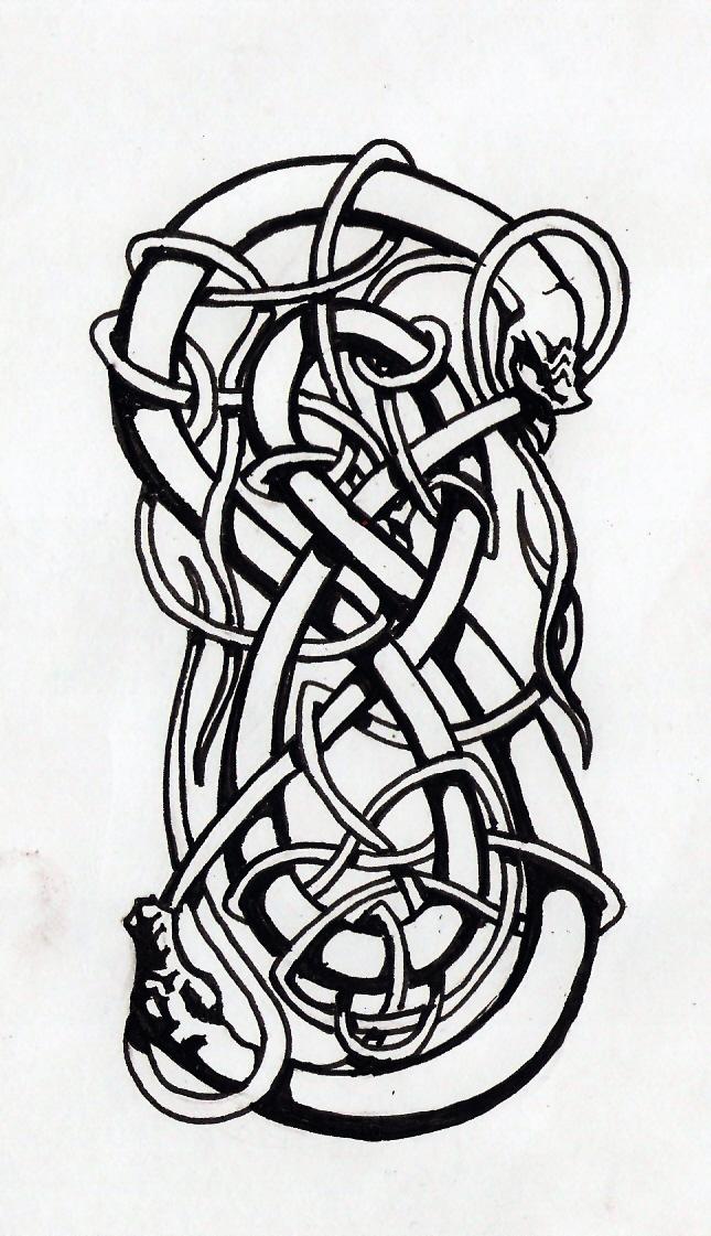 Loki s Symbol by SatanoyLoki Symbol Tattoo
